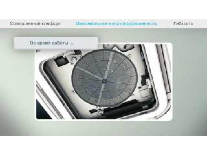 Кассетный кругопоточный Round Flow кондиционер Daikin
